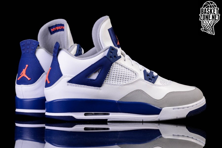 the latest f2ecf 9597b NIKE AIR JORDAN 4 RETRO  KNICKS  GG