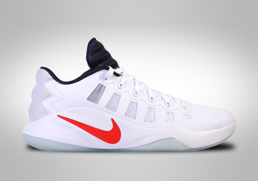 classic fit 50185 66931 NIKE HYPERDUNK 2016 LOW USA BASKETBALL TEAM HOME