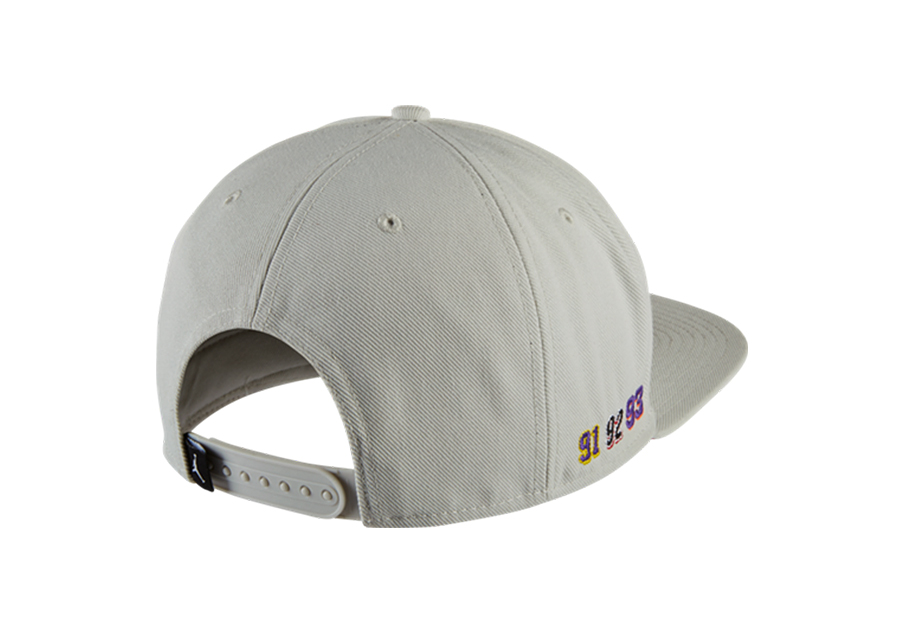 07378508435 NIKE AIR JORDAN CELEBRATION PACK CAP SNAPBACK LIGHT BONE. 789501-072