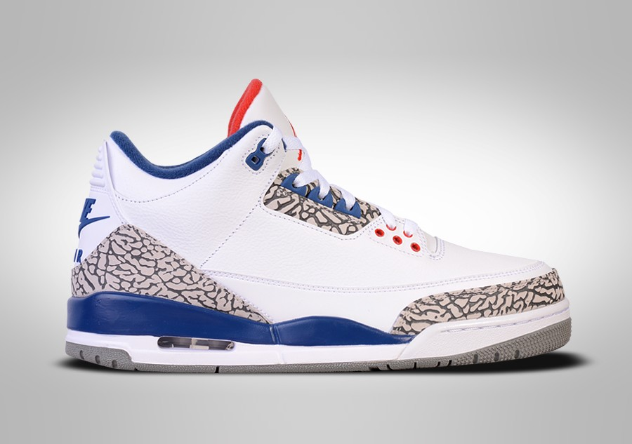 NIKE AIR JORDAN 3 RETRO OG TRUE BLUE BG (SMALLER SIZE) price ...
