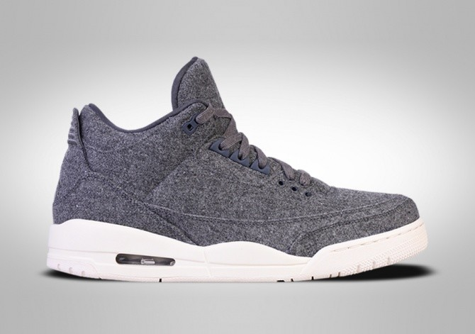 NIKE AIR JORDAN 3 RETRO WOOL