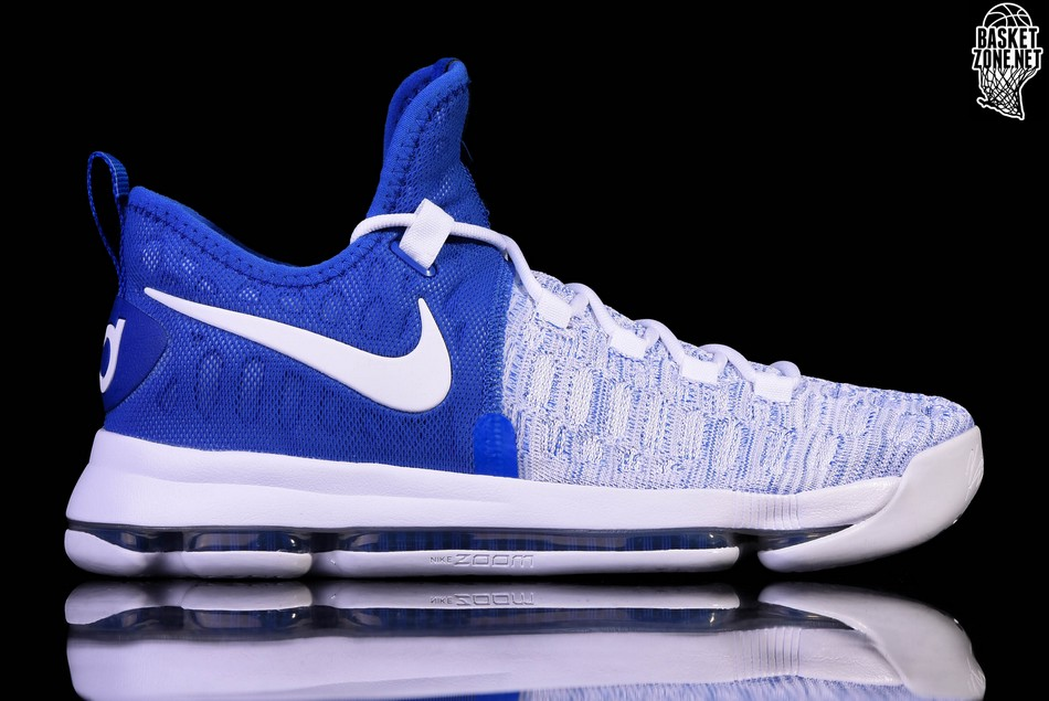 quality design cf48c d085e NIKE ZOOM KD 9 WARRIORS HOME ALTERNATIVE. 843392-411