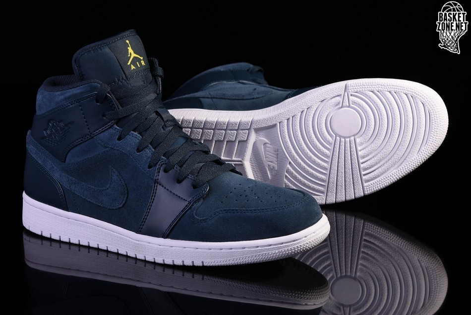 NIKE AIR JORDAN 1 RETRO MID ARMORY NAVY price $119.00
