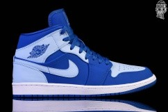 the best attitude 3aee9 c5ac2 NIKE AIR JORDAN 1 RETRO MID ICE BLUE