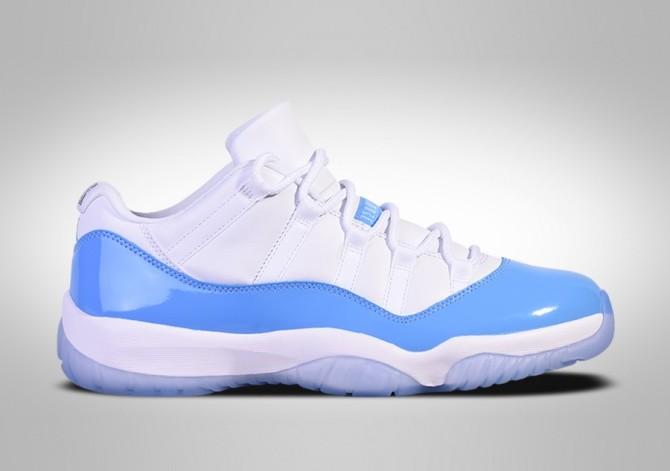 Nike Air Jordan 11 Retro Low Unc North Carolina Blue Price 175 00