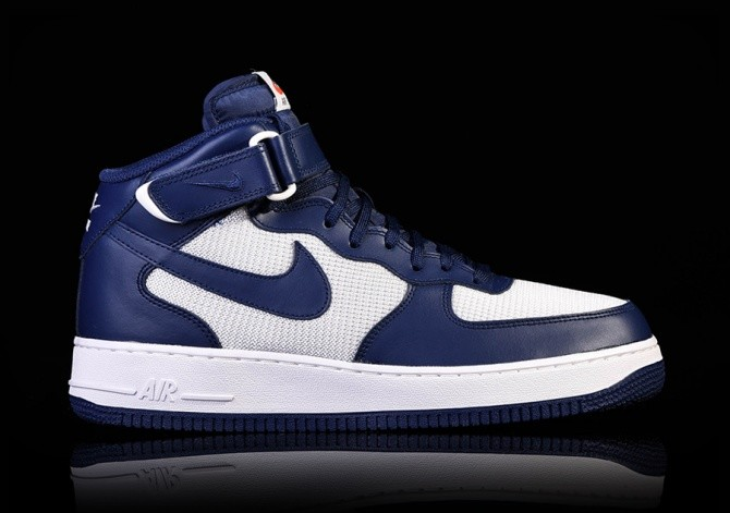 cheap for discount ad0b7 c10f4 NIKE AIR FORCE 1 MID '07 BINARY BLUE price €95.00 | Basketzone.net