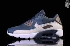 Nike Air Max 90 Ultra 2.0 875695 401 Blue FoxLight Bone