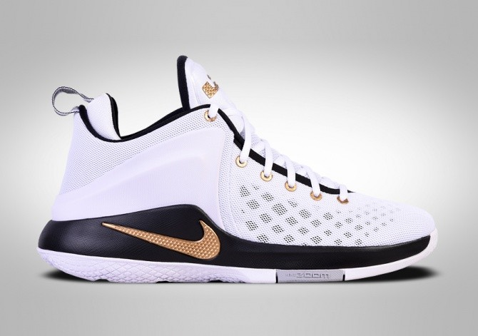 NIKE LEBRON ZOOM WITNESS GOLD KING CROWN