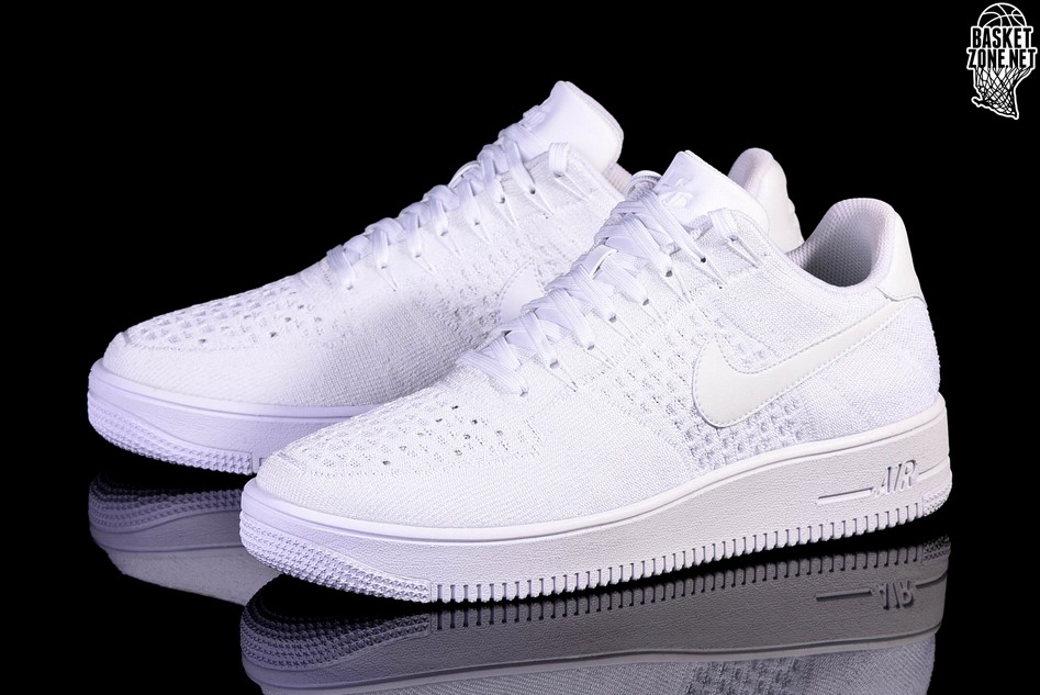 buy popular 06ed2 10a95 NIKE AIR FORCE 1 ULTRA FLYKNIT LOW WHITE. 817419-101