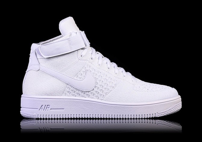 aeea18228ab3 NIKE AIR FORCE 1 ULTRA FLYKNIT MID WHITE price €117.50