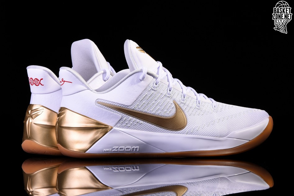 check out 64ad5 d28b9 NIKE KOBE A.D. 12 BIG STAGE WHITE METALLIC GOLD