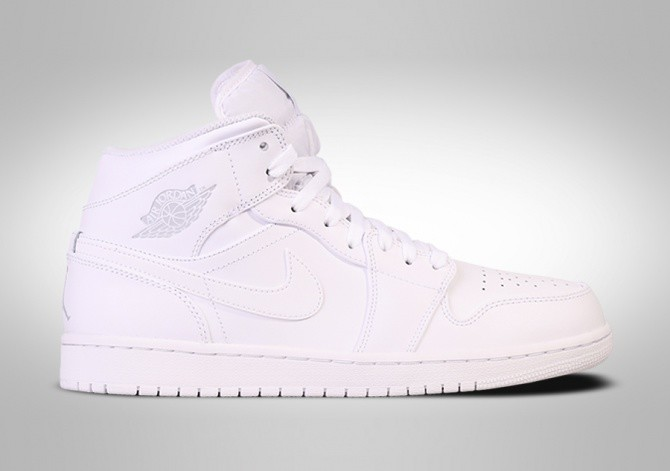 NIKE AIR JORDAN 1 RETRO MID WHITE