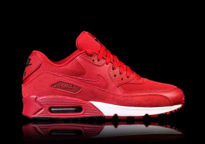 b12928a5866 NIKE AIR MAX 90 ESSENTIAL GYM RED für €137,50 | Basketzone.net