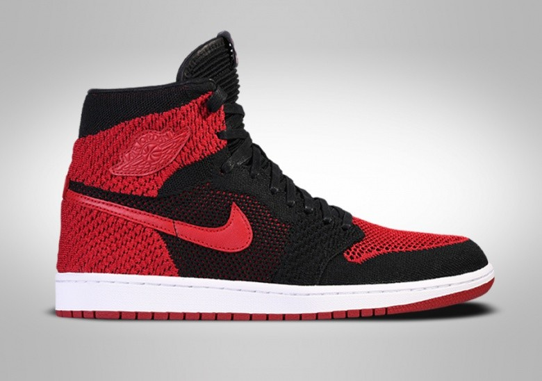 NIKE AIR JORDAN 1 RETRO HIGH FLYKNIT BANNED BG
