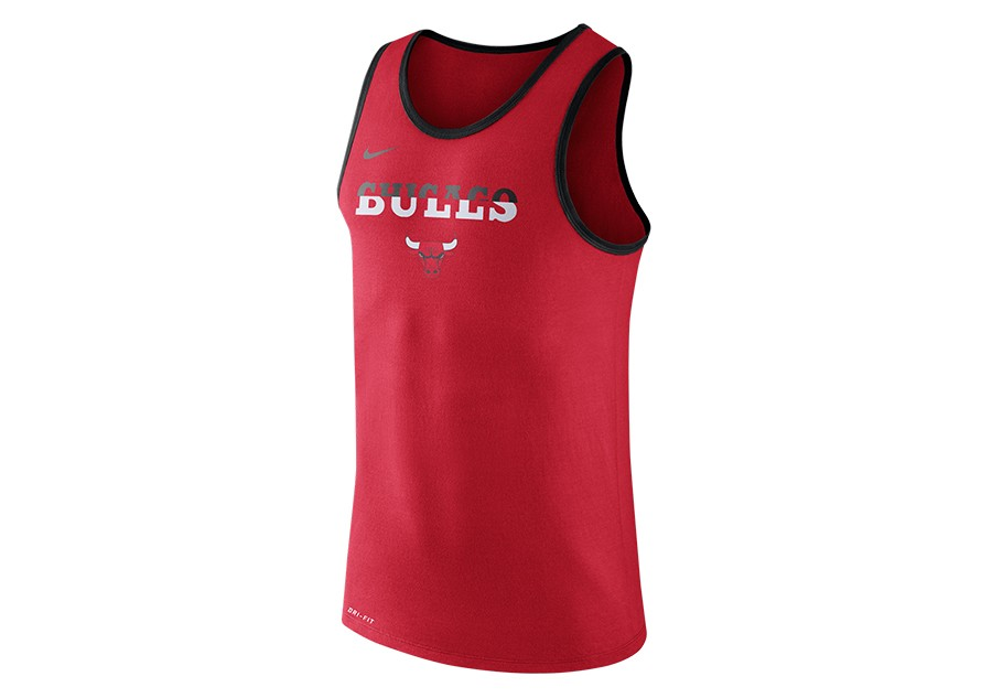 0e75cb0449c NIKE NBA CHICAGO BULLS DRY LOGO TANK UNIVERSITY RED per €22,50 ...