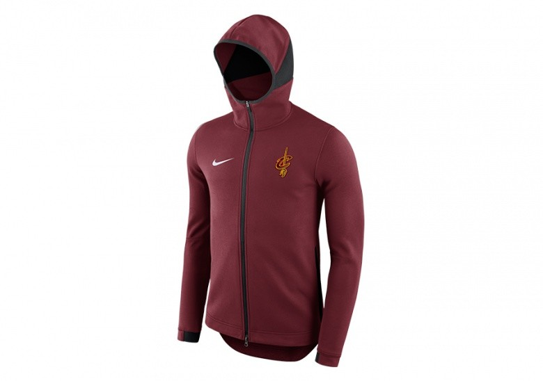 check out 39608 73961 NIKE NBA CLEVELAND CAVALIERS DRY SHOWTIME HOODIE TEAM RED