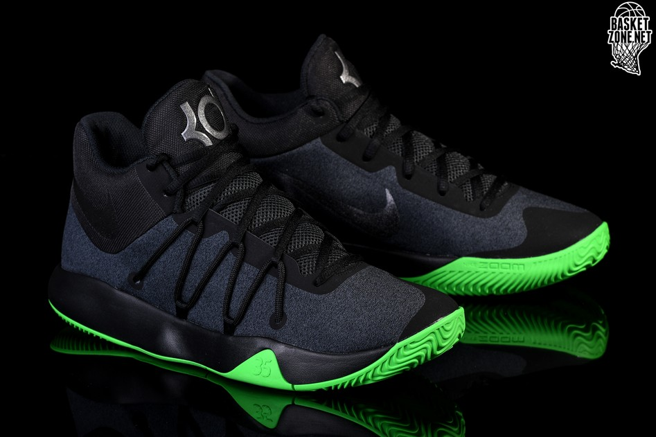 purchase cheap c73a5 1a6be ... best price nike kd trey 5 v black rage green d5e32 9352d