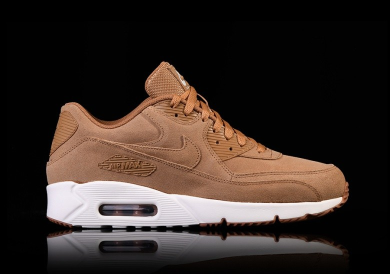 NIKE AIR MAX 90 ULTRA 2.0 LEATHER FLAX