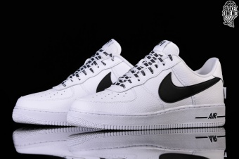 info for 4de72 05970 NIKE AIR FORCE 1 07 LV8 NBA PACK WHITE BLACK