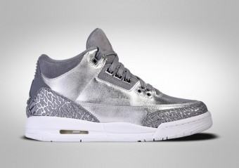 NIKE AIR JORDAN 3 RETRO PREM HC CHROME