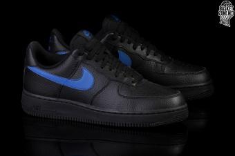 sports shoes 90d99 2d624 NIKE AIR FORCE 1 07 BLACK BLUE