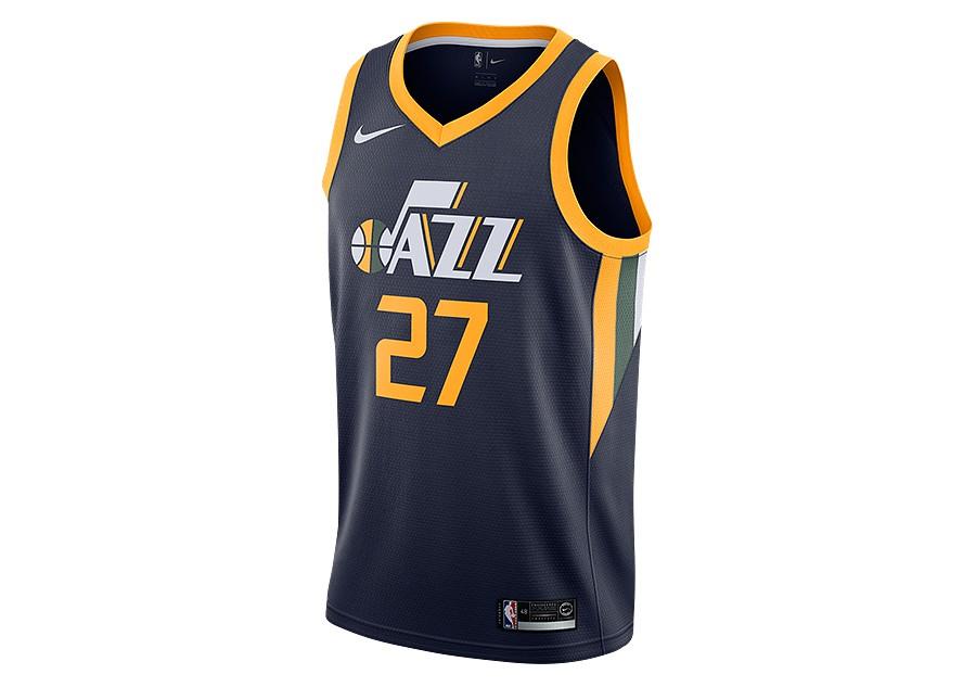 timeless design e9a5a 9ce34 NIKE NBA UTAH JAZZ RUDY GOBERT SWINGMAN JERSEY ROAD COLLEGE ...