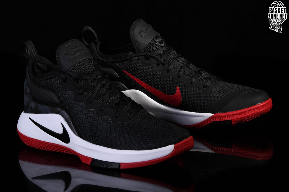 official photos 846df 8a0cf NIKE LEBRON WITNESS II BRED