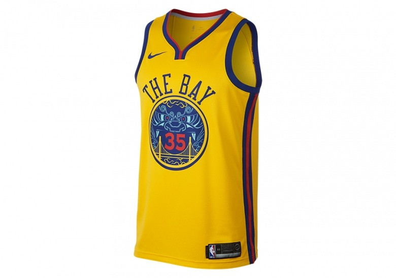 6eb858a254bc NIKE NBA KEVIN DURANT GOLDEN STATE WARRIORS CITY EDITION SWINGMAN JERSEY  AMARILLO