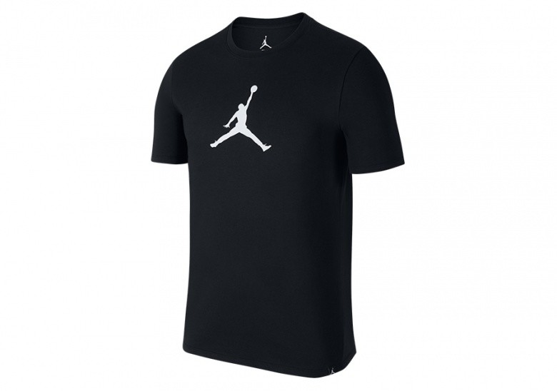 NIKE AIR JORDAN DRY TEE 23/7 JUMPMAN BASKETBALL TEE BLACK