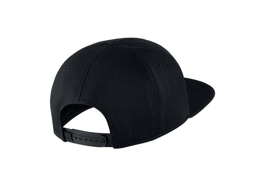 10e3820f111 NIKE AIR JORDAN JUMPMAN SNAPBACK HAT BLACK GYM RED price €25.00 ...
