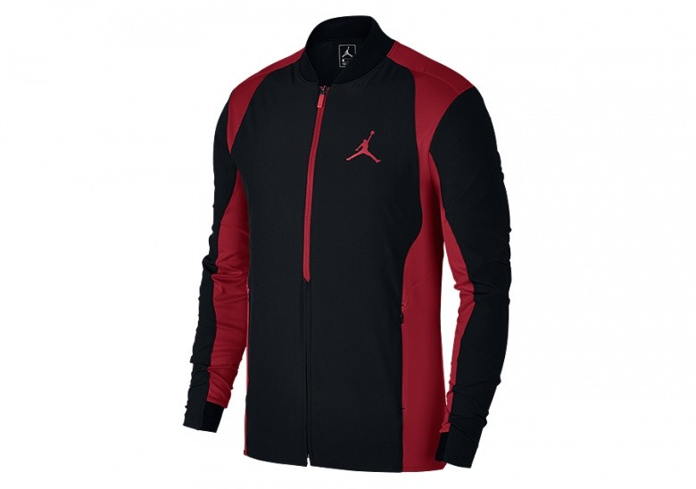 NIKE AIR JORDAN ULTIMATE FLIGHT JACKET BLACK GYM RED pour €92 8d2ec190efba