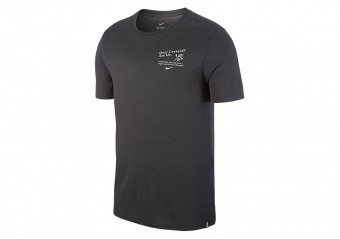NIKE DRY KYRIE IRVING TEE ANTHRACITE