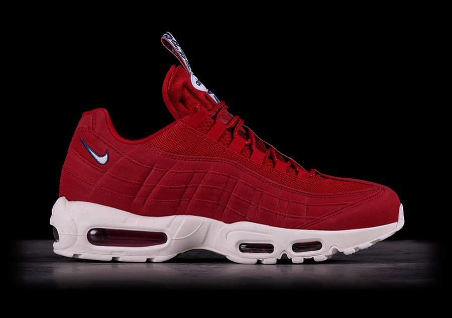 low priced a0be2 969c6 NIKE AIR MAX 95 TT GYM RED price €139.00   Basketzone.net