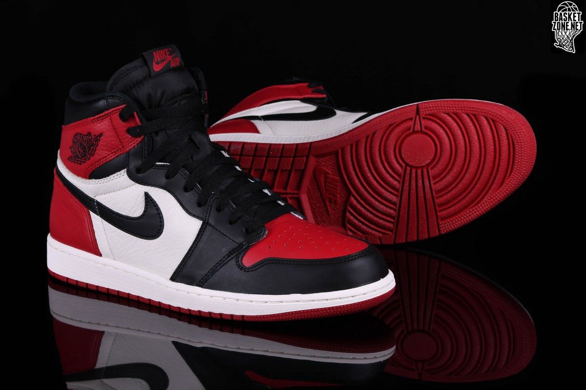 bcc5b098bb3cc8 NIKE AIR JORDAN 1 RETRO HIGH OG BRED TOE BG price €185.00 ...
