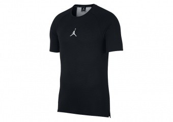 NIKE AIR JORDAN DRY 23 ALPHA TRAINING TOP BLACK