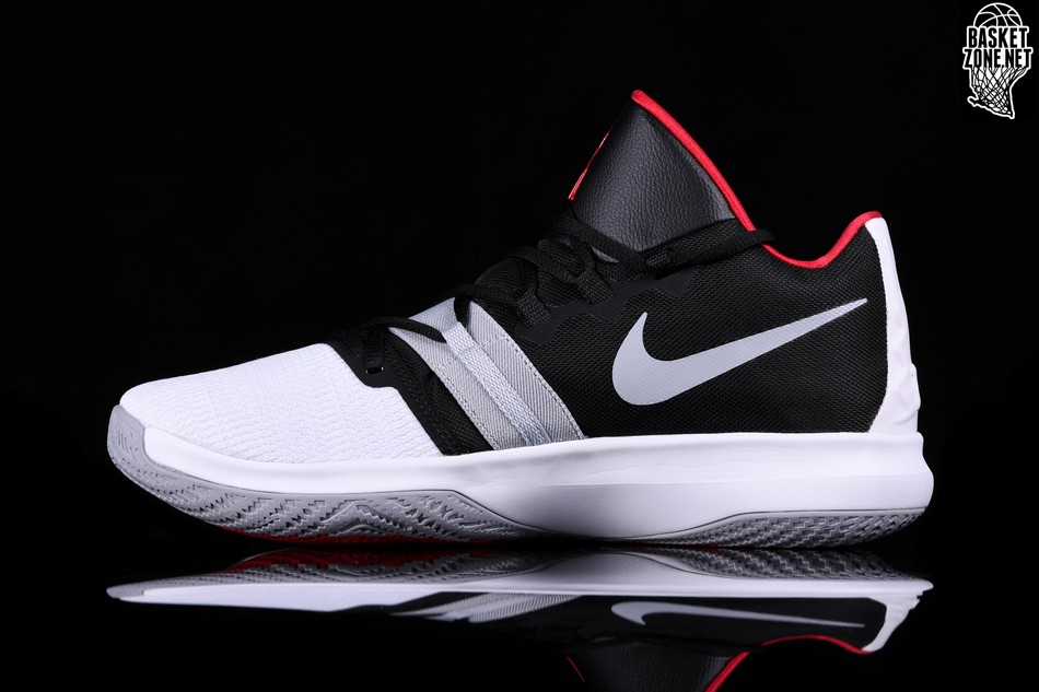 2e9a74ae6af1 NIKE KYRIE FLYTRAP WHITE BLACK UNIVERSITY RED price €82.50 ...