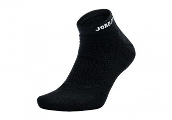 NIKE AIR JORDAN DRY FLIGHT 2.0 ANKLE SOCKS BLACK
