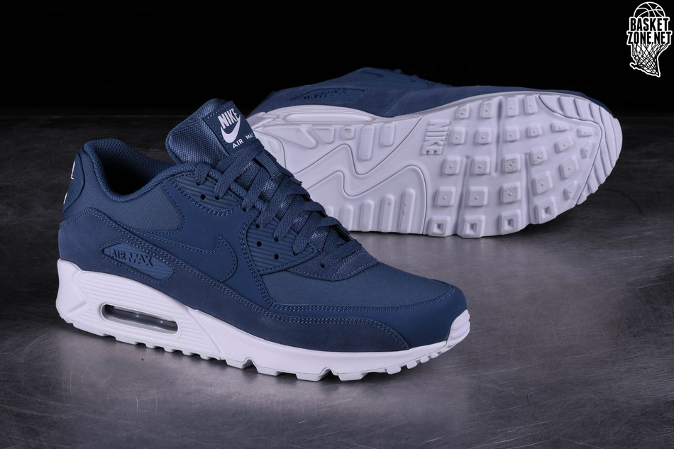 finest selection 713ee be686 NIKE AIR MAX 90 ESSENTIAL DIFFUSED BLUE