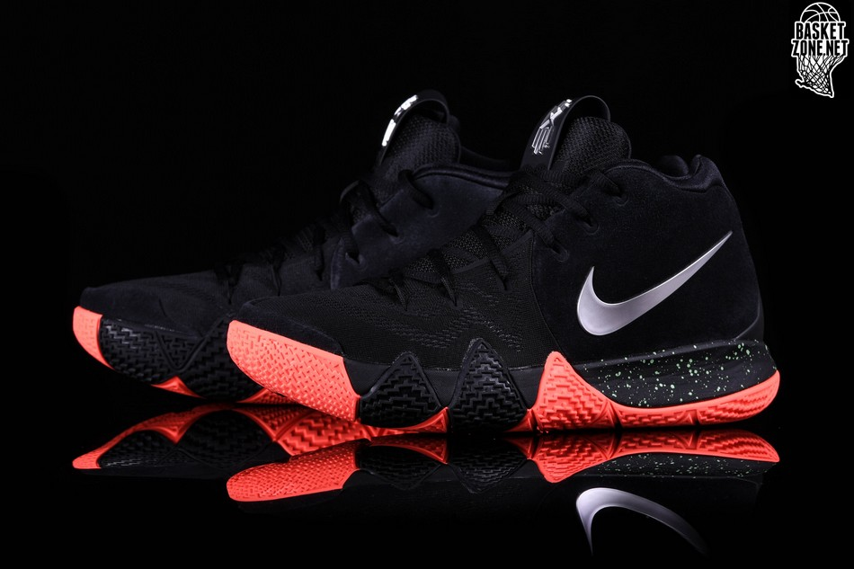 best service 17850 ba2cc NIKE KYRIE 4 BLACK SILVER ORANGE price 774.14DKK ...