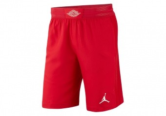 best service d673f 8f916 NIKE AIR JORDAN ULTIMATE FLIGHT BASKETBALL SHORTS GYM RED