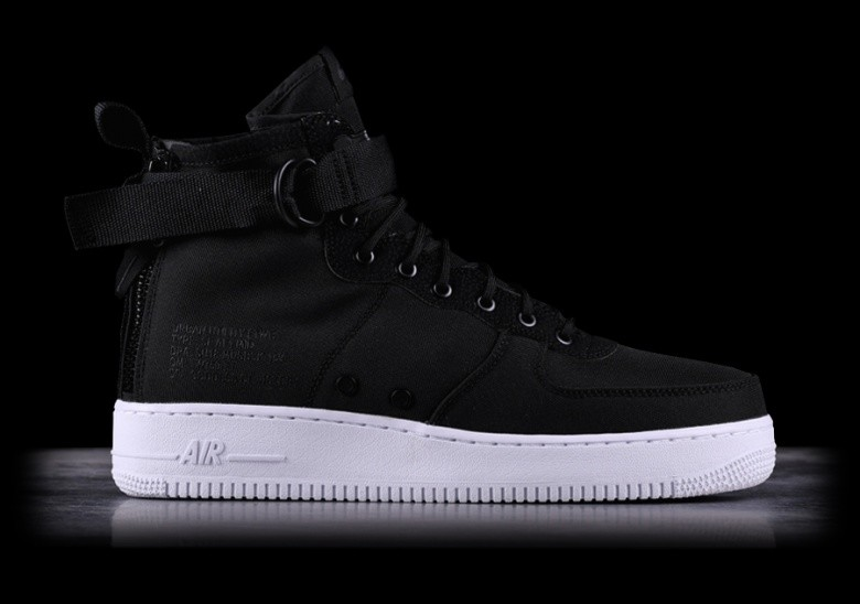 online store cad0b f1325 NIKE SF AIR FORCE 1 MID BLACK pour €122,50 | Basketzone.net