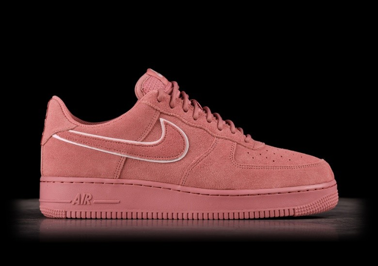 nike air force 1 07 suede red