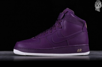 new concept 384fe 8fbe9 NIKE AIR FORCE 1 HIGH  07 NIGHT PURPLE