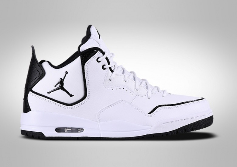 NIKE AIR JORDAN COURTSIDE 23 GS WHITE BLACK