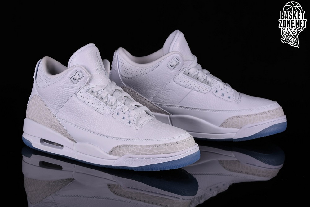 best sneakers 4fb8b d2eac NIKE AIR JORDAN 3 RETRO PURE WHITE price 12527.50 ...