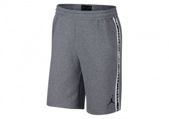 NIKE AIR JORDAN HBR FLEECE SHORTS CARBON HEATHER