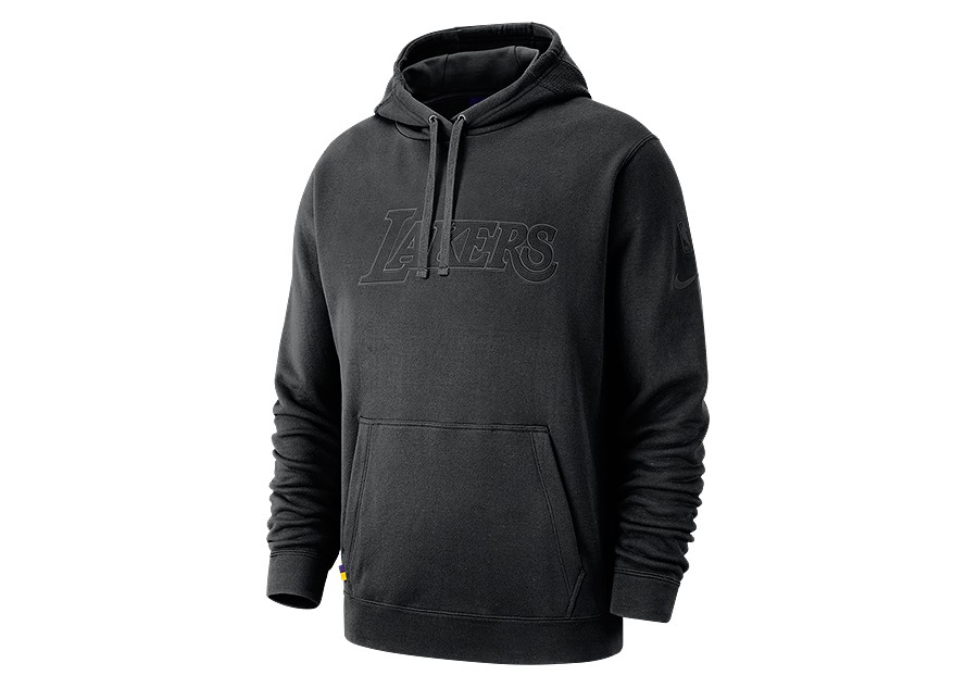 a67b448bd7a NIKE NBA LOS ANGELES LAKERS COURTSIDE HOODIE BLACK price €82.50 ...
