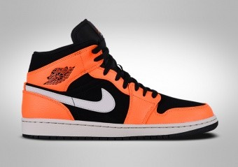 the latest 2bf92 b8dda ... buy nike air jordan 1 retro mid black orange 0d573 0a74a