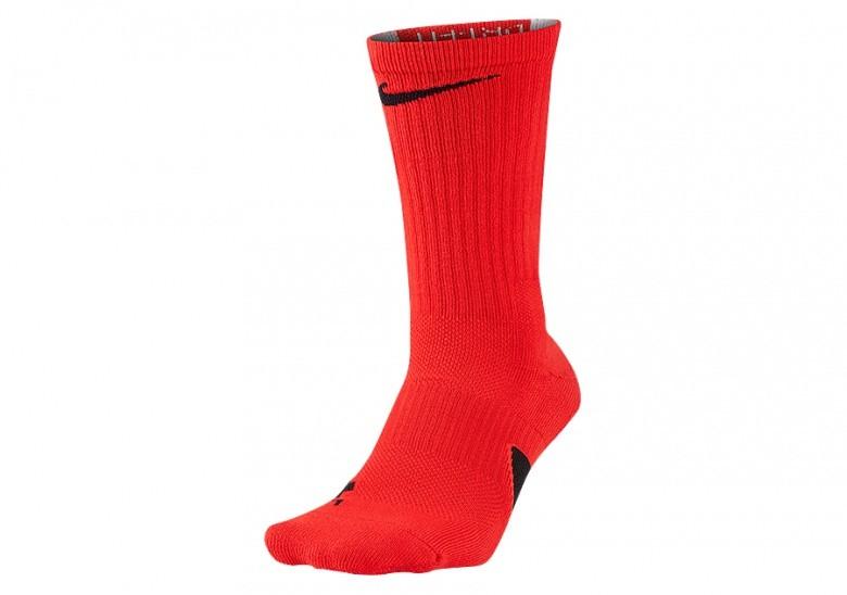 NIKE ELITE CREW SOCKS UNIVERSITY RED