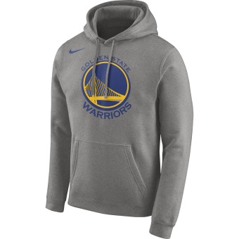NIKE NBA GOLDEN STATE WARRIORS LOGO HOODIE